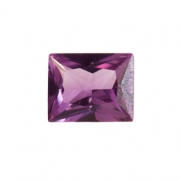 10X8mm Rectangle Alexandrite CZ - Pack of 1