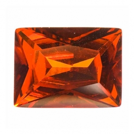 16X12mm Rectangle Red CZ - Pack of 1