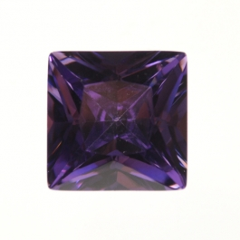 14mm Square Light Amethyst CZ - Pack of 1