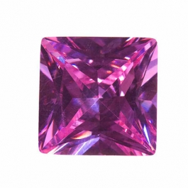 18mm Square Lavender CZ - Pack of 1