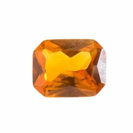10X8mm Octagon Citrine CZ - Pack of 1