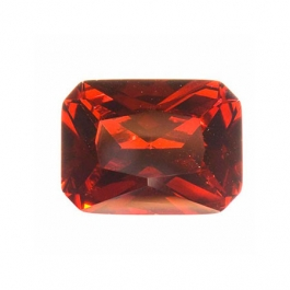10x8mm Octagon Garnet CZ  - Pack of 1