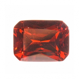 10X8mm Octagon Red CZ - Pack of 1