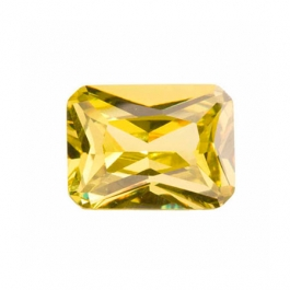 10x8mm Octagon Peridot CZ - Pack of 1
