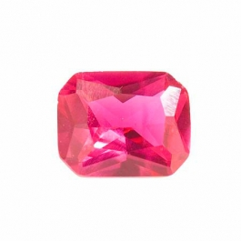 10X8mm Octagon Ruby Corundum - Pack of 1