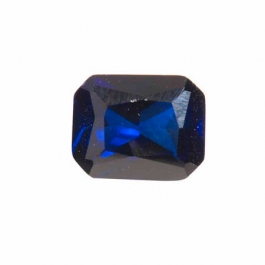 10X8mm Octagon Sapphire CZ - Pack of 1