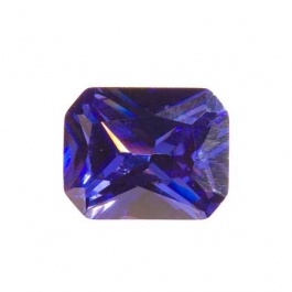 10X8mm Octagon Tanzanite CZ - Pack of 1