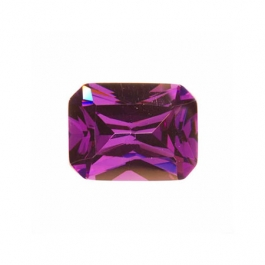 10x8mm Octagon Amethyst CZ - Pack of 1