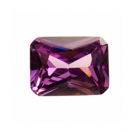 10x8mm Octagon Light Amethyst CZ - Pack of 1