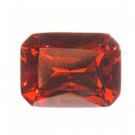 16X12mm Octagon Red CZ - Pack of 1