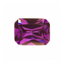 16x12mm Octagon Amethyst CZ - Pack of 1
