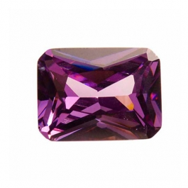 16x12mm Octagon Light Amethyst CZ - Pack of 1