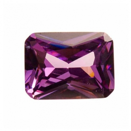 18x13mm Octagon Light Amethyst CZ - Pack of 1