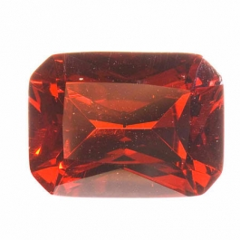 20X15mm Octagon Red CZ - Pack of 1