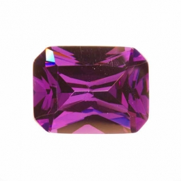 20X15mm Octagon Amethyst CZ - Pack of 1