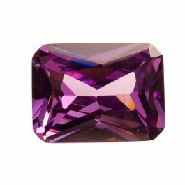 20X15mm Octagon Light Amethyst CZ - Pack of 1
