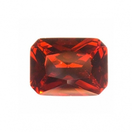9x7mm Octagon Garnet CZ  - Pack of 1