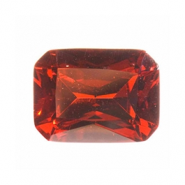 9x7mm Octagon Red CZ - Pack of 1