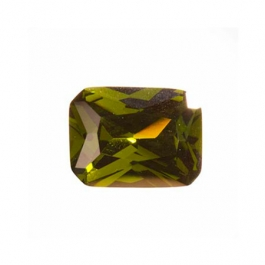 9x7mm Octagon Olive CZ - Pack of 1