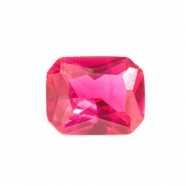 9x7mm Octagon Ruby Corundum - Pack of 1
