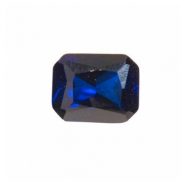 9x7mm Octagon Sapphire CZ - Pack of 1