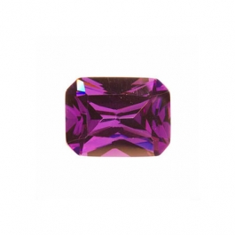 9x7mm Octagon Amethyst CZ - Pack of 1
