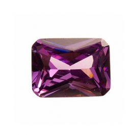 9x7mm Octagon Light Amethyst CZ - Pack of 1
