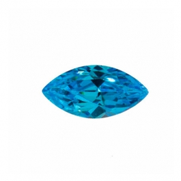 10X5mm Marquise Blue CZ - Pack of 2
