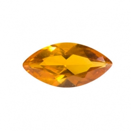 10X5mm Marquise Citrine CZ - Pack of 2