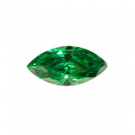 10X5mm Marquise Emerald Green CZ - Pack of 2