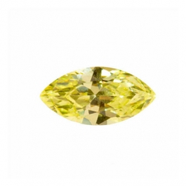 10X5mm Marquise Apple Green CZ - Pack of 2