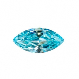 10X5mm Marquise Aquamarine CZ - Pack of 2