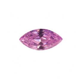 10x5mm Marquise Pink Rose CZ - Pack of 2