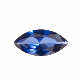 10X5mm Marquise Sapphire CZ - Pack of 2