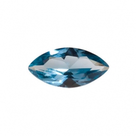 10X5mm Marquise Blue Zircon CZ - Pack of 2