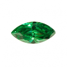 14X7mm Marquise Emerald Green CZ - Pack of 1