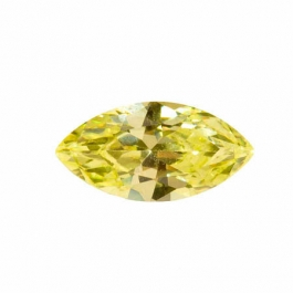 14X7mm Marquise Apple Green CZ - Pack of 1
