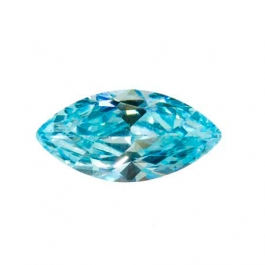 14X7mm Marquise Aquamarine CZ - Pack of 1