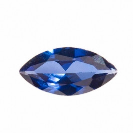 14X7mm Marquise Sapphire CZ - Pack of 1