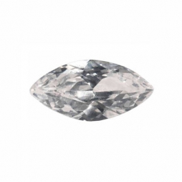 14X7mm Marquise White CZ - Pack of 1