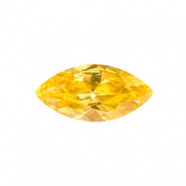 14X7mm Marquise Yellow CZ - Pack of 1