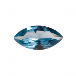 14X7mm Marquise Blue Zircon CZ - Pack of 1