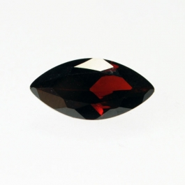 7x14mm Marquise Garnet CZ  - Pack of 1