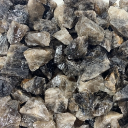 WireJewelry 3 lbs of Bulk Rough Smoky Quartz Stone - Large Natural Rough Stone and Crystals for Tumbling