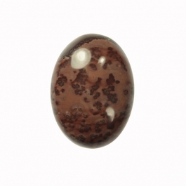 25x18mm Oval Red Picture Jasper Cabochon - Package of 1