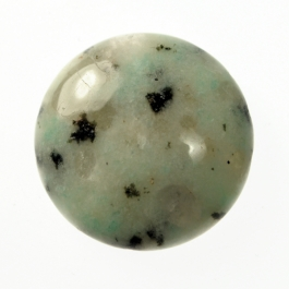 25mm Sesame Jasper Round Cabochon - Pack of 1