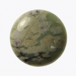 10mm Peace Stone Jasper Round Cabochon - Pack of 2