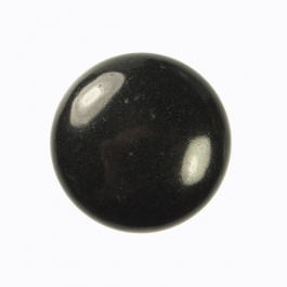 25mm Basalt Round Cabochon - Pack of 1