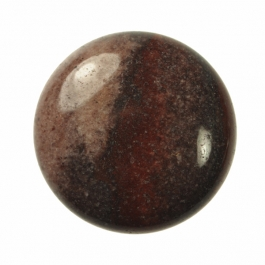 25mm Red Scenic Jasper Round Cabochon - Pack of 1