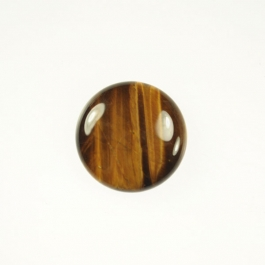 Tiger Eye 10mm Round Cabochon - Pack of 2